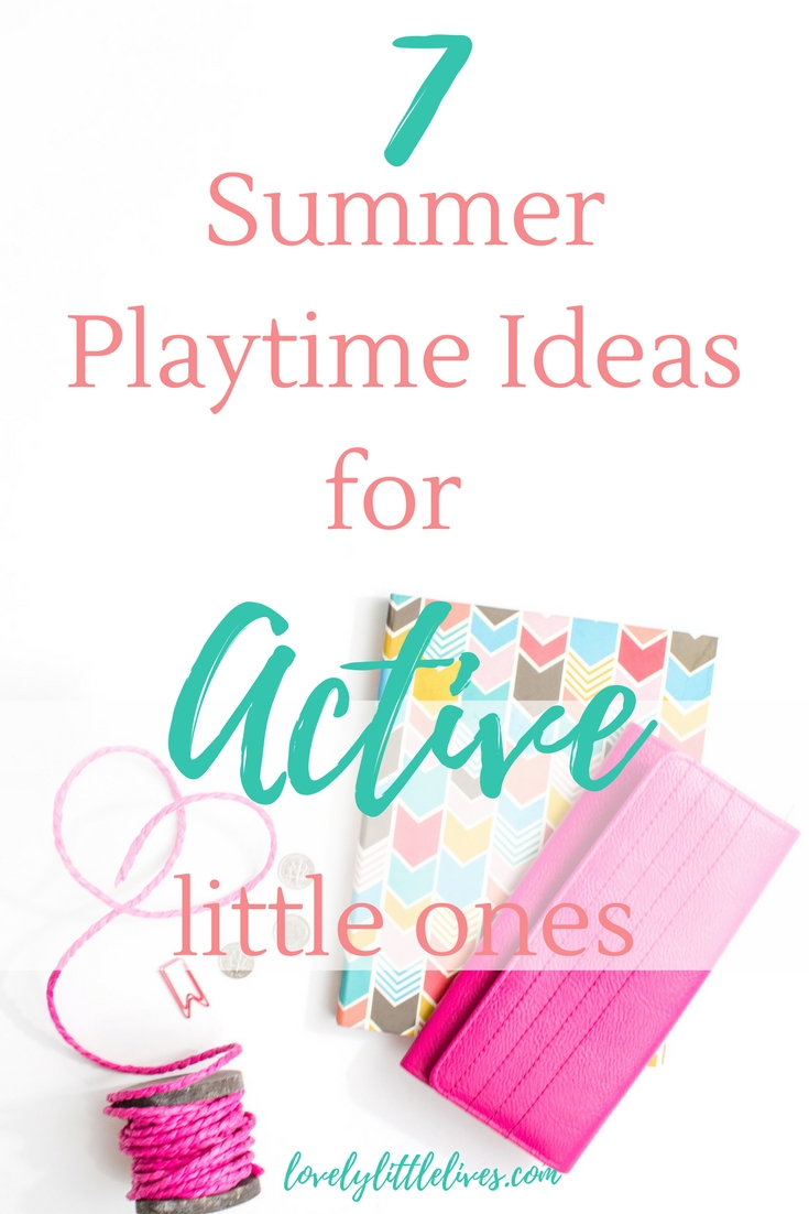 Summer Playtime Ideas for Active Little Ones