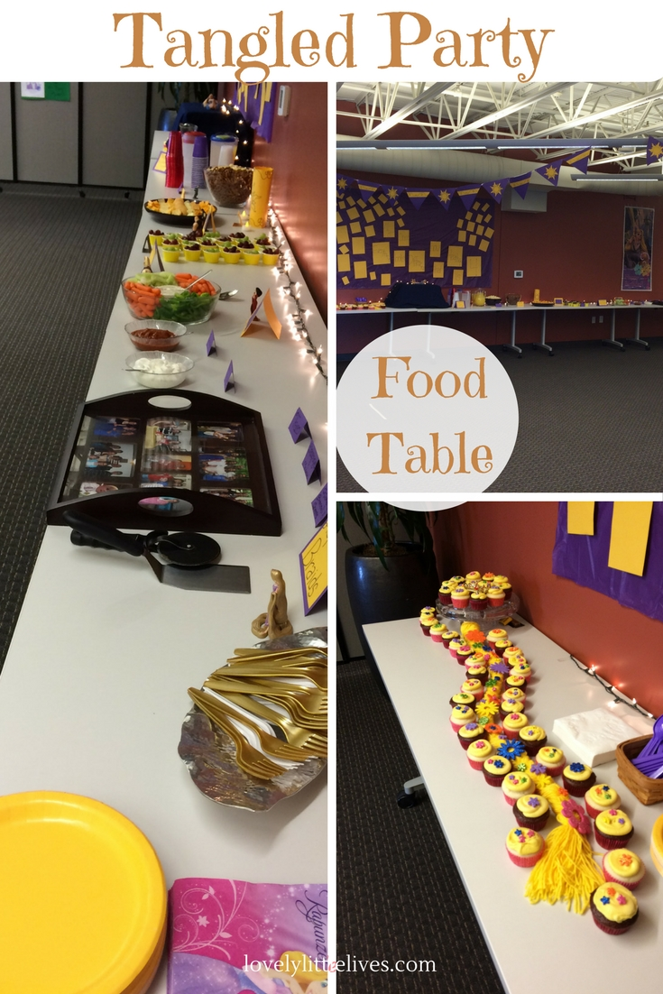 Tangled Food Table