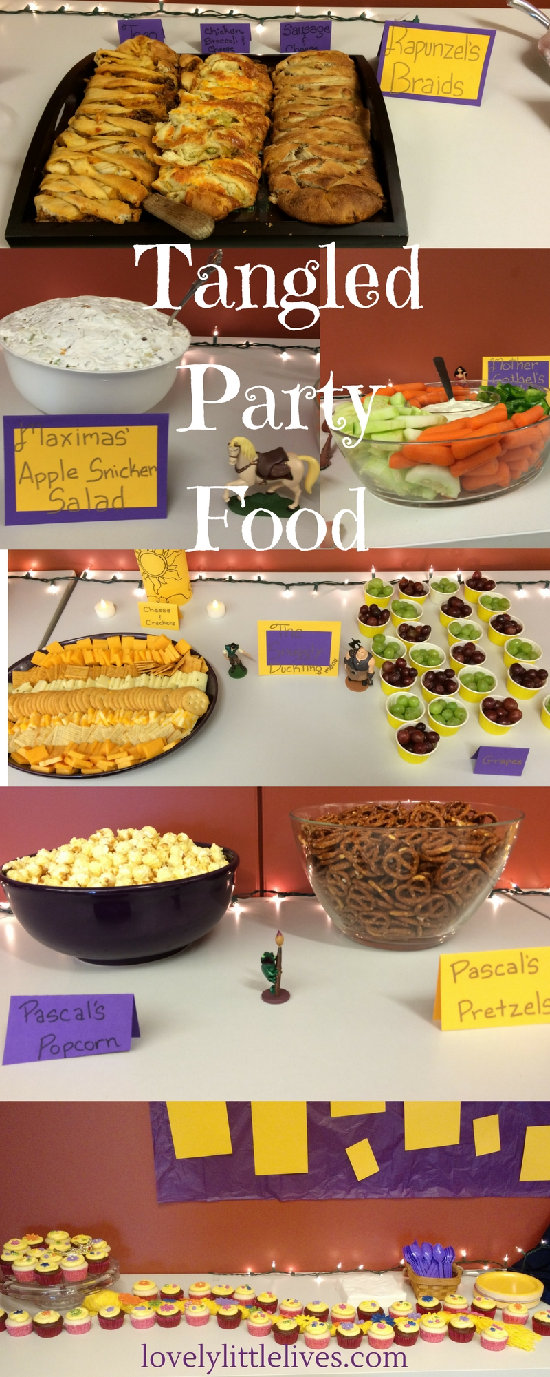 Tangled Party Food