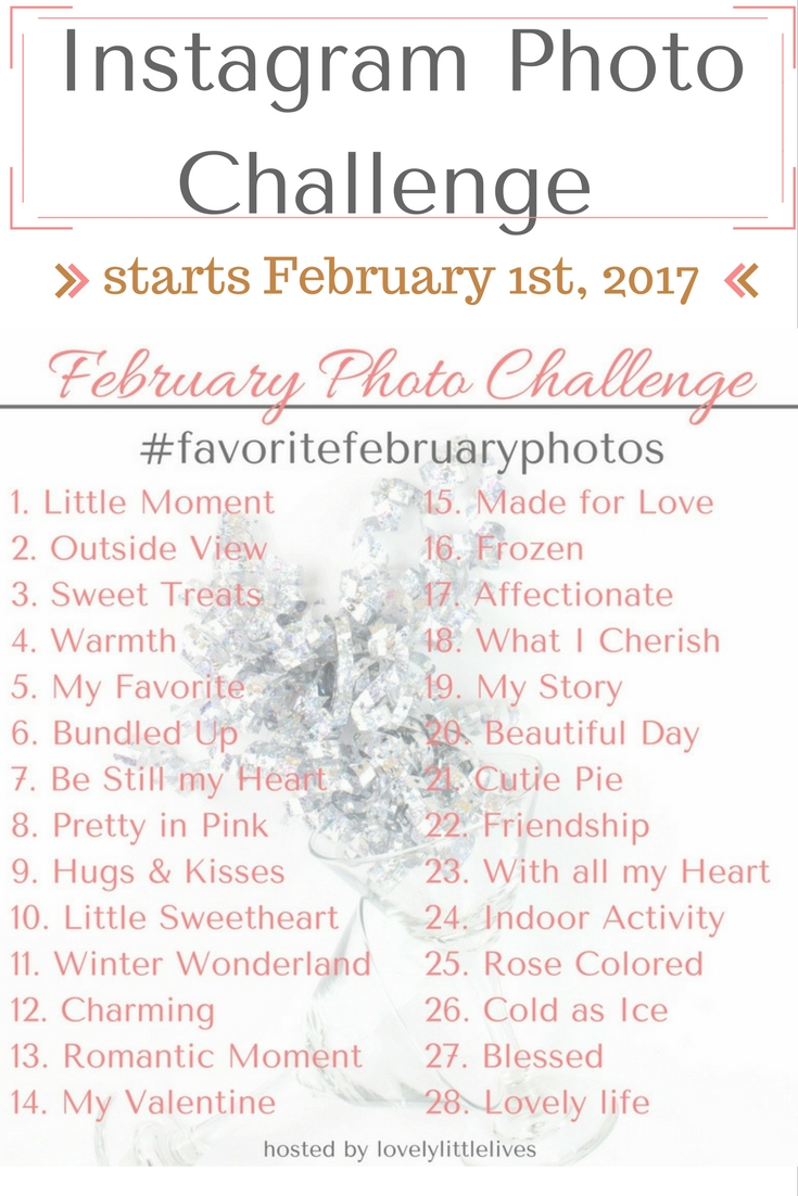 Instagram February Photo Challenge