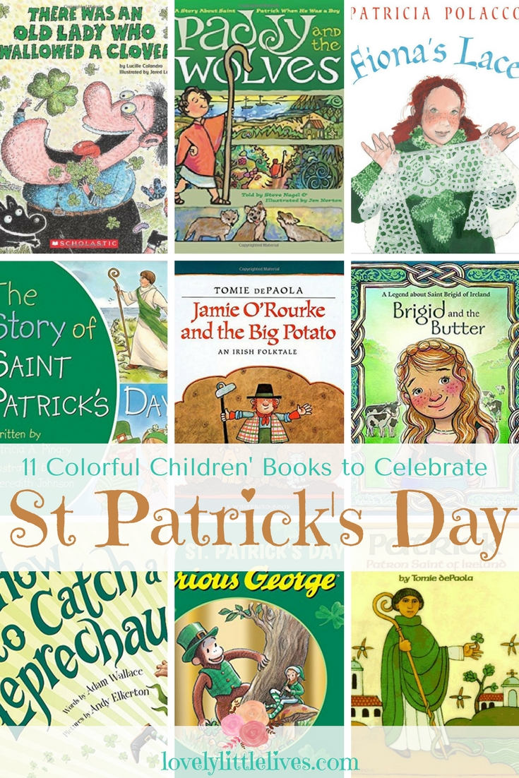 St Patrick's Day Books For Children #kidsbooks #Stpatricksday #activitiesforstpatricksday #thingstodoforstpatricksday #stpatricksday #thingstodowithkids #kidsbooks