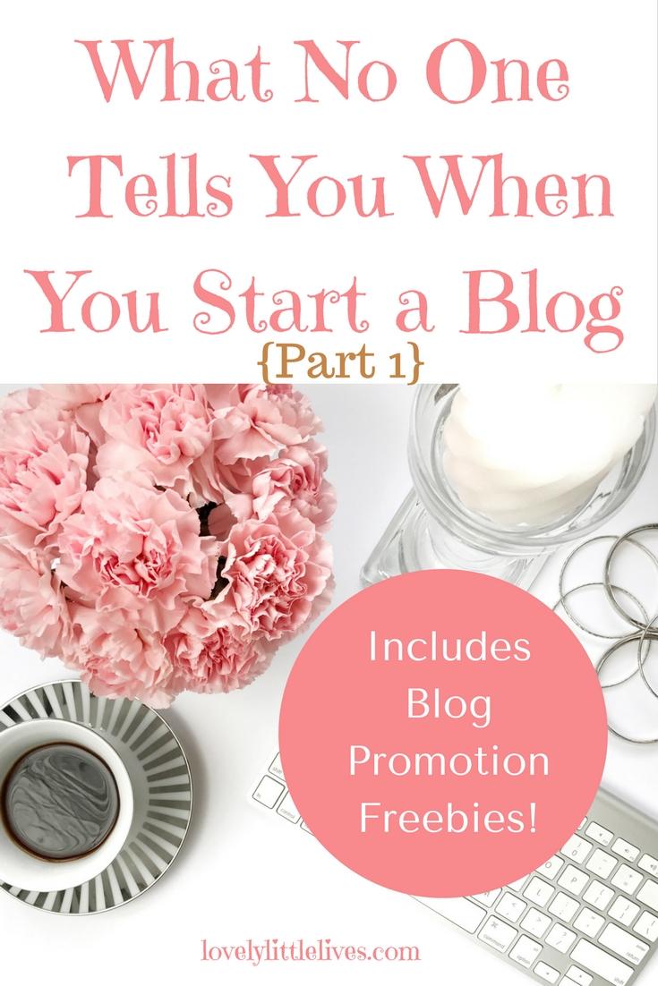 What no one tell you when you start a blog
