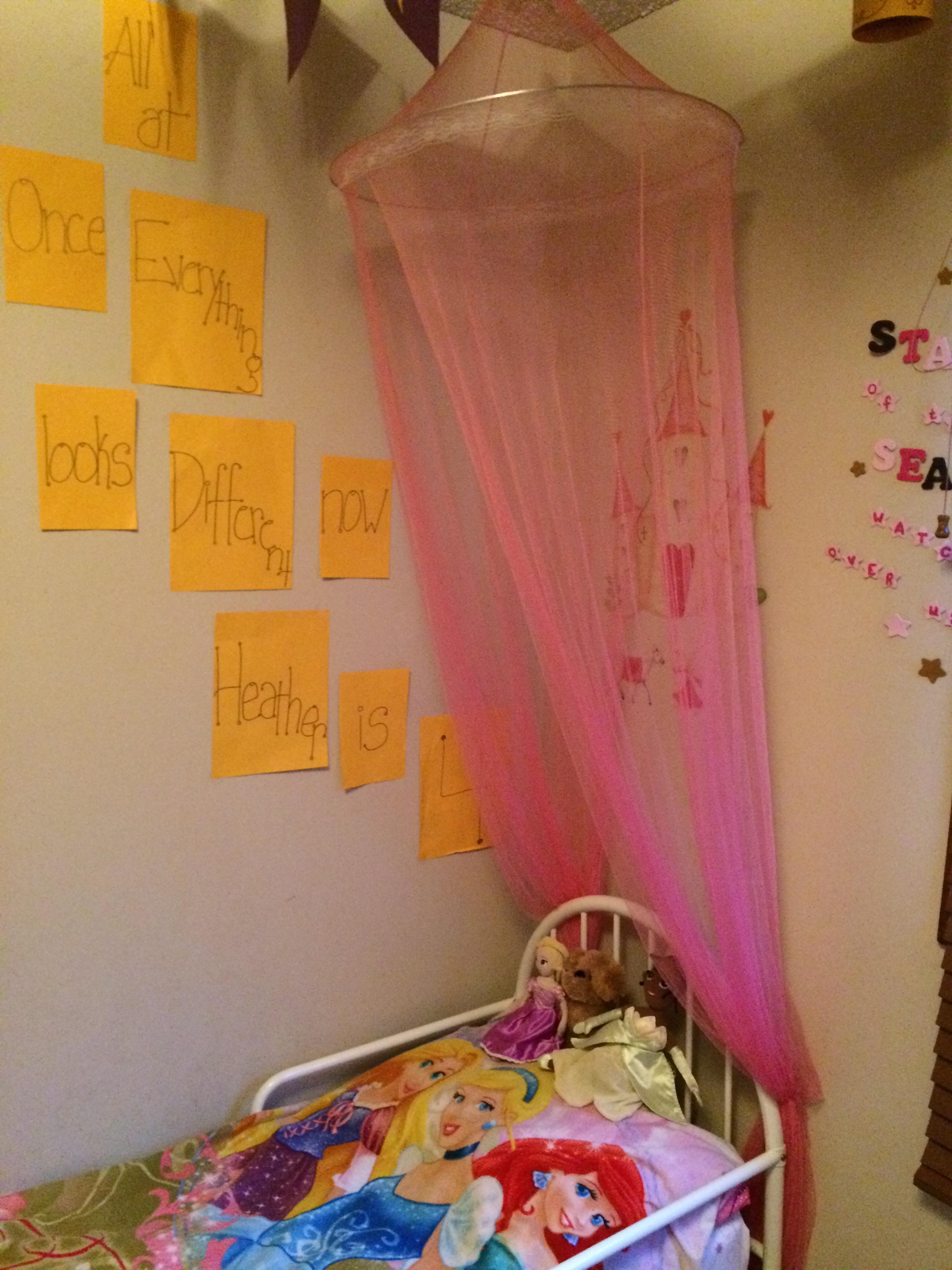 How To Create A Lovely Disney Princess Bedoom For Little Girls