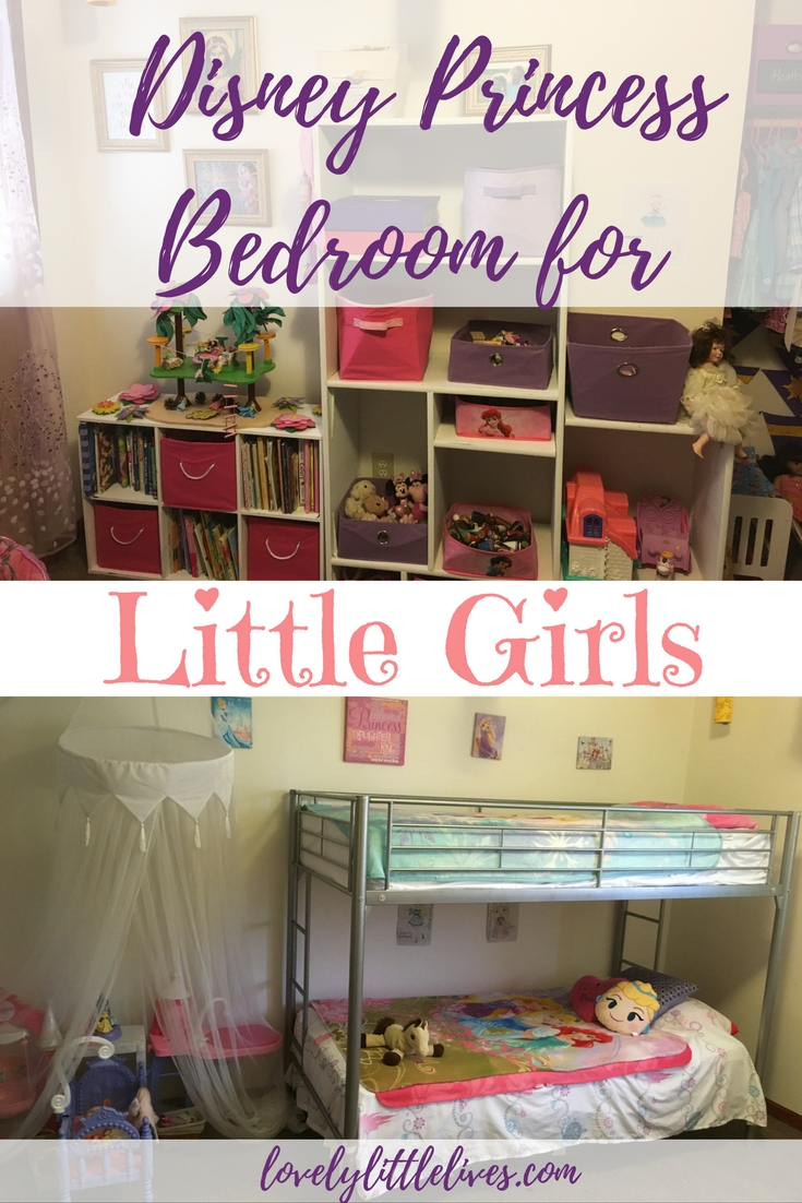 How to Create a Lovely Disney Princess Bedroom for Little Girls