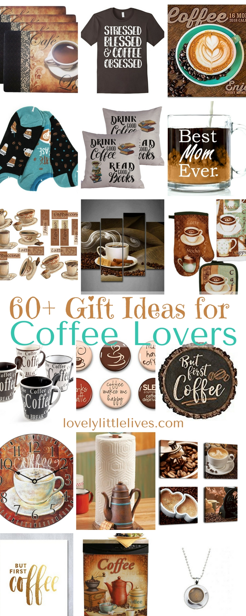 60+ Gift Guide for Coffee Lovers