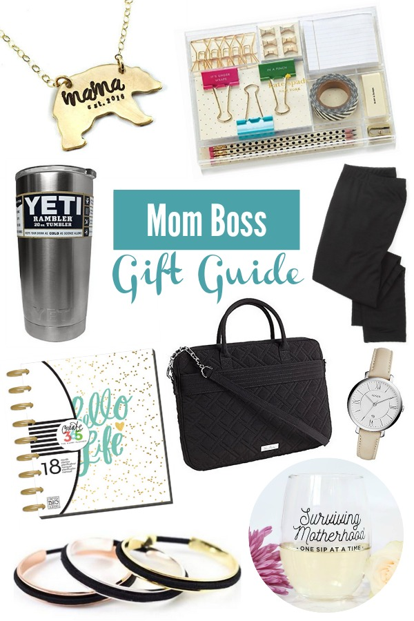 GIFT GUIDE – MOM BOSS