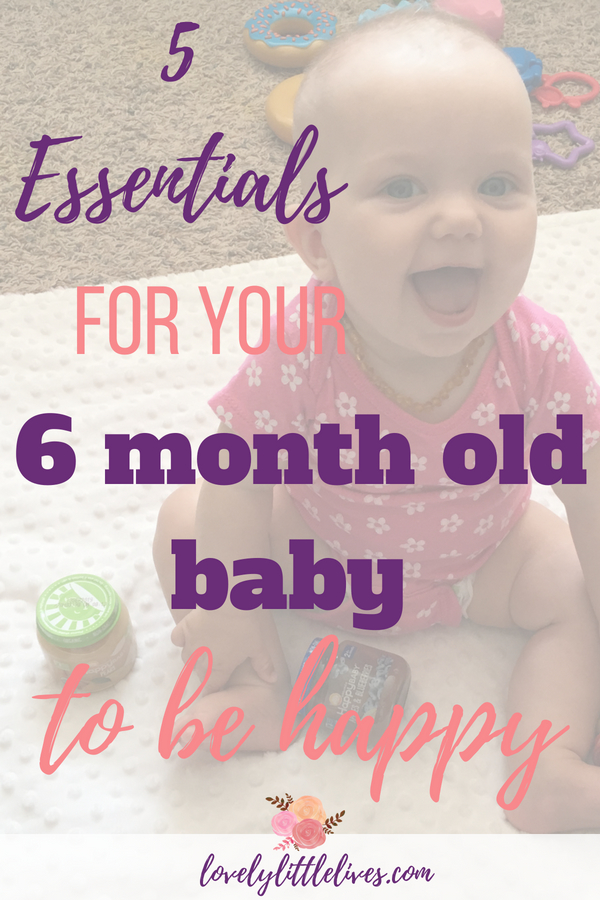 5 Essentials for your 6 Month Old Baby to be Happy #sponsored by happy family brands #organicbaby food #healthybaby #thisishappy