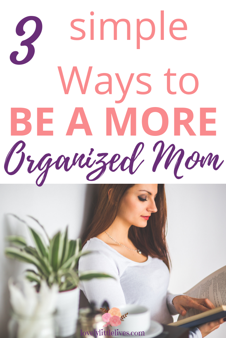 3 simple ways to be a more organized mom | to do list printable | meal planning printable | to do list organization | ways to be organized | how to organize your life | how to be an organized mom | ways to be productive as a mom | ways to be productive at home | #organization2019 #organizeyourlife #organizedmom