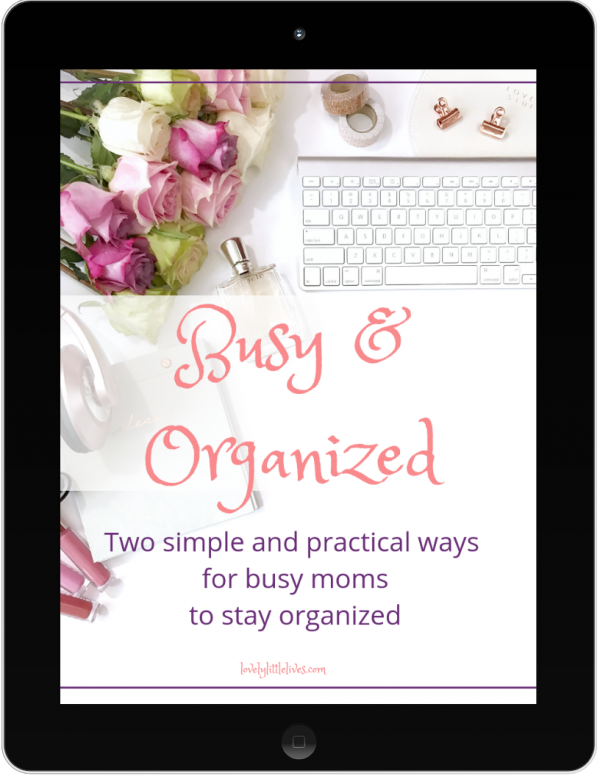 Busy and Organized