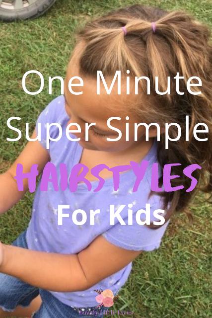 40 Easy Hairstyles For Little Girls Lovely Little Lives